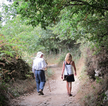 Last 100 km of the Ruta de la Plata: From Orense to Santiago de Compostela