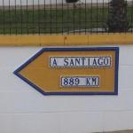 A Santiago 889 Km